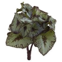 Nearly Natural 8-Inch Begonia Artificial Bush (Set of 12)