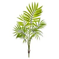 Nearly Natural 19-Inch Mini Areca Palm Bushes (Set of 6)
