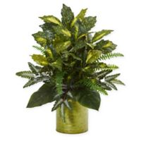 Nearly Natural 27-Inch Mixed Greens Plant