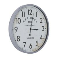 Yosemite Home Décor Antique 1870 Vintage Wall Clock in White