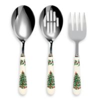 Spode® Christmas Tree 3-Piece Cutlery Serving Set