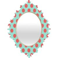 Deny Designs Adorable Dots Baroque Medium Wall Mirror