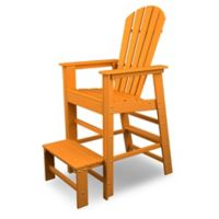 POLYWOOD® South Beach Lifeguard Chair in Tangerine