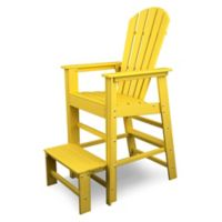 POLYWOOD® South Beach Lifeguard Chair in Lemon