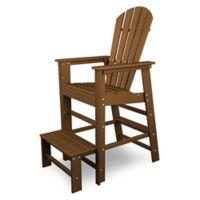 POLYWOOD® South Beach Lifeguard Chair in Teak