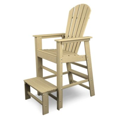 POLYWOOD® South Beach Lifeguard Chair In Sand