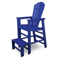 POLYWOOD® South Beach Lifeguard Chair in Pacific Blue