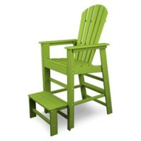 POLYWOOD® South Beach Lifeguard Chair in Lime