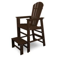 POLYWOOD® South Beach Lifeguard Chair in Mahogany