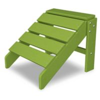 POLYWOOD® South Beach Ottoman in Lime