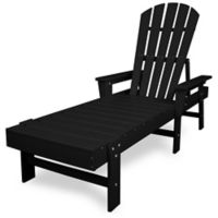 POLYWOOD® South Beach Chaise in Black