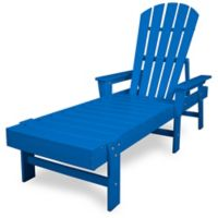 POLYWOOD® South Beach Chaise in Pacific Blue