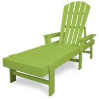 POLYWOOD® South Beach Chaise in Lime