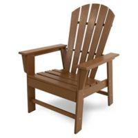 POLYWOOD® South Beach Casual Chair inTeak