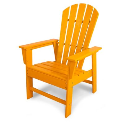 POLYWOOD® South Beach Casual Chair In Tangerine