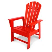 POLYWOOD® South Beach Casual Chair in Sunset Red