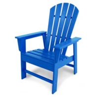 POLYWOOD® South Beach Casual Chair in Pacific Blue