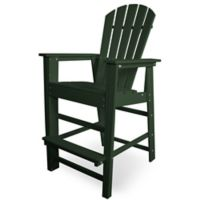 POLYWOOD® South Beach Bar Chair in Green