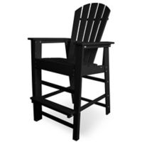 POLYWOOD® South Beach Bar Chair in Black