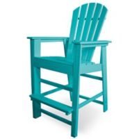 POLYWOOD® South Beach Bar Chair in Aruba