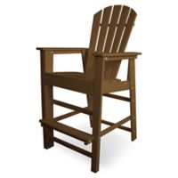 POLYWOOD® South Beach Bar Chair in Teak