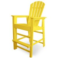 POLYWOOD® South Beach Bar Chair in Lemon