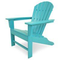 POLYWOOD® South Beach Adirondack Chair in Aruba