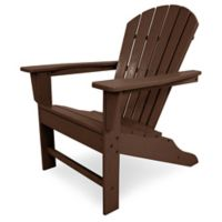 POLYWOOD® South Beach Adirondack Chair in Mahogany