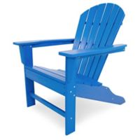 POLYWOOD® South Beach Adirondack Chair in Pacific Blue