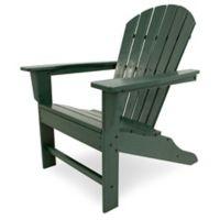 POLYWOOD® South Beach Adirondack Chair in Green