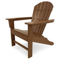 POLYWOOD® South Beach Adirondack Chair in Teak
