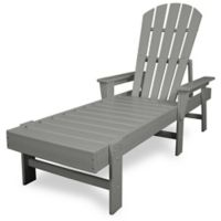 POLYWOOD® South Beach Chaise in Slate Grey