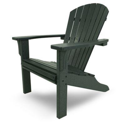 POLYWOOD® Seashell Adirondack Chair In Green