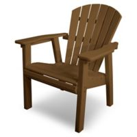 POLYWOOD® Seashell Dining Chair in Teak