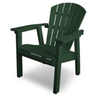 POLYWOOD® Seashell Dining Chair in Green