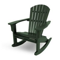 POLYWOOD® Seashell Rocker in Green