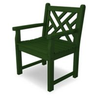 POLYWOOD® Chippendale Garden Chair in Green