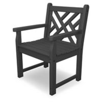 POLYWOOD® Chippendale Garden Chair in Slate Grey