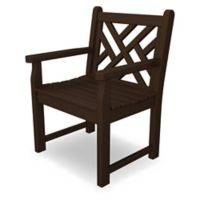 POLYWOOD® Chippendale Garden Chair in Mahogany