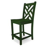 POLYWOOD® Chippendale Bar Side Chair in Green