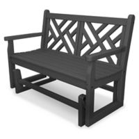 POLYWOOD® Chippendale Garden Glider in Slate Grey