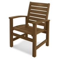POLYWOOD® Signature Dining Chair in Teak