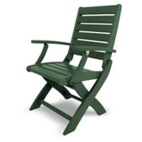POLYWOOD® Signature Folding Chair in Green