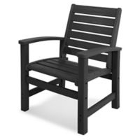 POLYWOOD® Signature Dining Chair in Black