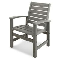 POLYWOOD® Signature Dining Chair in Slate Grey
