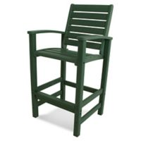 POLYWOOD® Signature Bar Chair in Green