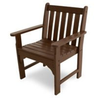 POLYWOOD® Vineyard Garden Arm Chair in Mahogany