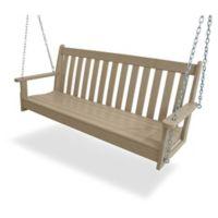 POLYWOOD® Vineyard Garden Swing in Sand