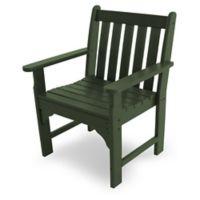 POLYWOOD® Vineyard Garden Chair in Green