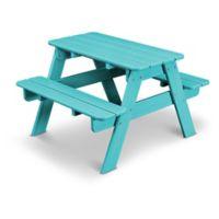 POLYWOOD® 30-Inch Kids' Picnic Table in Aruba